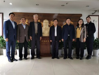 国际洪门中华总会刘沛勋主席一行 拜会致公党四川省委会